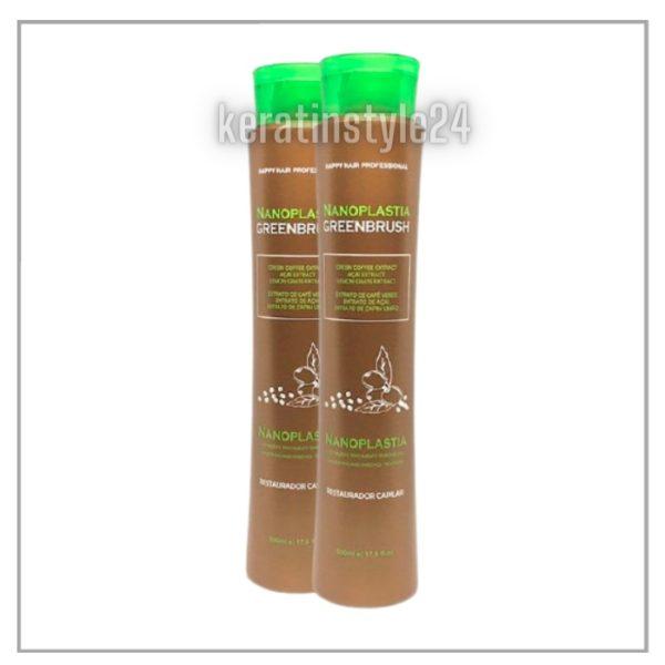 Nanoplastika_Green_Brush_Happy_HAIR